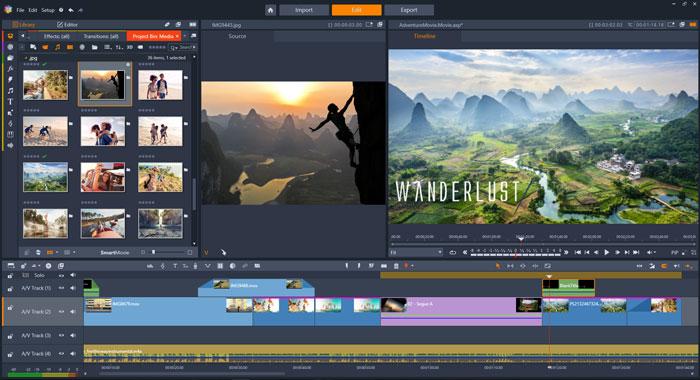 Pinnacle Studio Ultimate - Best 360 Video Editor for Windows 10