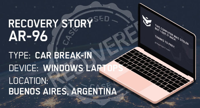 Prey - Laptop Tracking and Recovery Tools