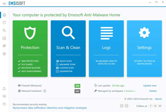 Emisoft Antimalware