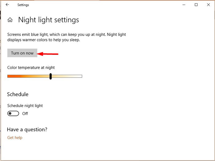 F.lux Vs Windows 10 Night Light 3