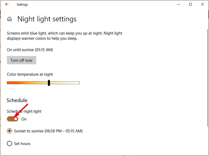 F.lux Vs Windows 10 Night Light 4