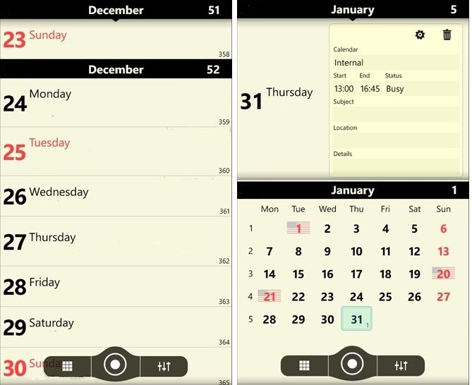 Chronos Calendar Plus App