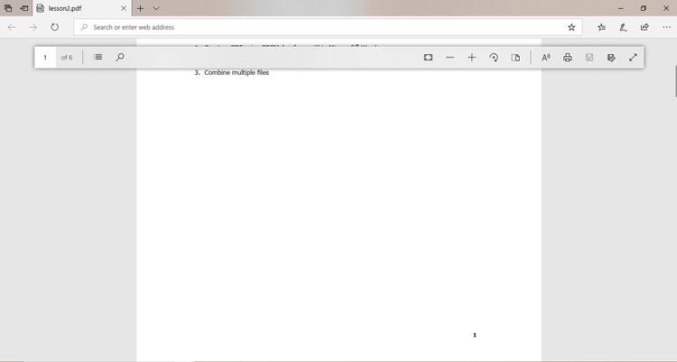 Edge PDF Viewer