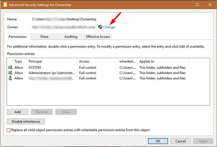 Fix Folder Access Denied Error 1-3