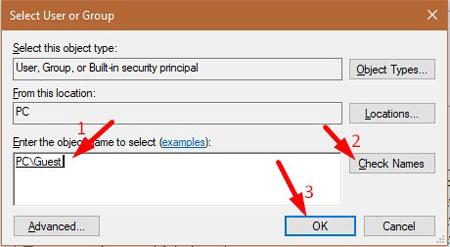Fix Folder Access Denied Error 1-4