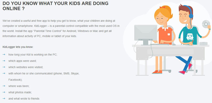 KidLogger - Best Parental Control Software
