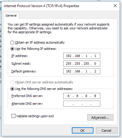 IPv4 - How to Connect Two Computers via Ethernet