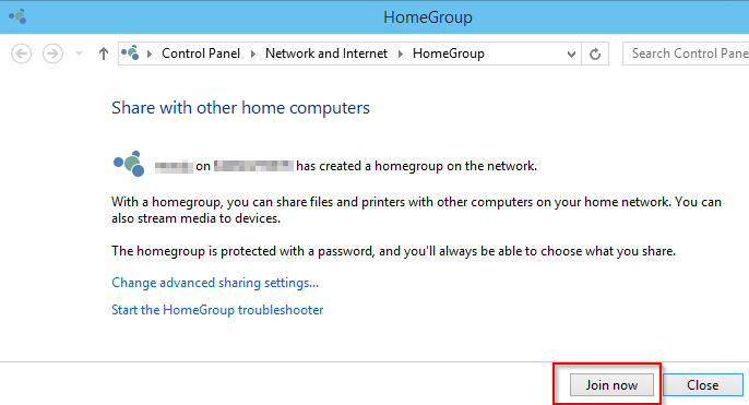 Join HomeGroup - How to Connect Two Computers via Ethernet