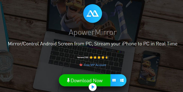 ApowerMirror - How to Mirror Android to PC