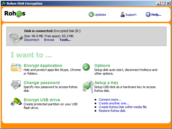 Rohos Disk Encryption - 8 Best USB Encryption Software