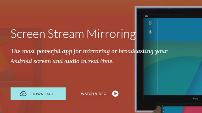 Screen Stream Mirroring Free