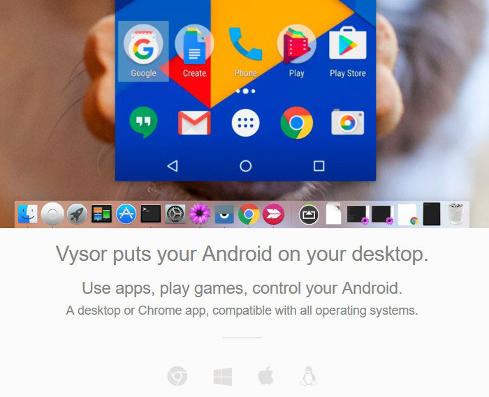 Vysor - Share Android Screen on Windows 10