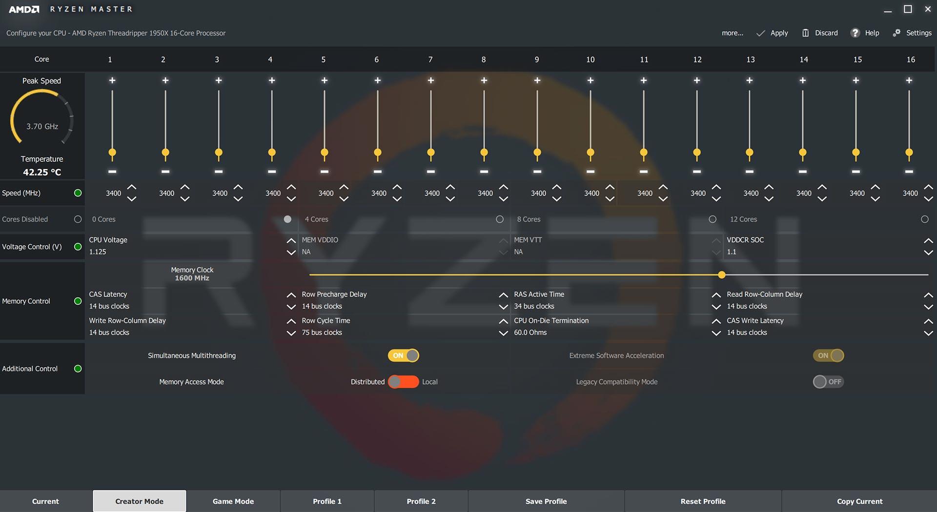AMD Ryzen Master - Computer CPU Temperature Monitoring Programs