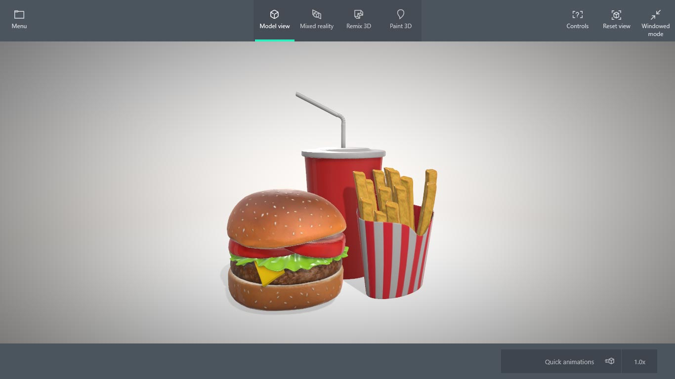 Mixed Reality Viewer Added in April Update