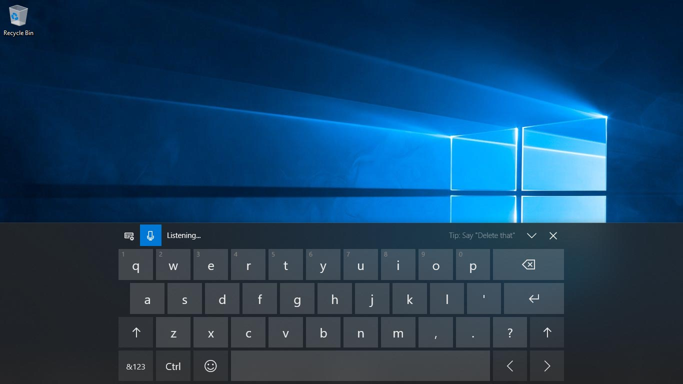 Touch Keyboard Enhancement in Windows 10 April 2018 Update