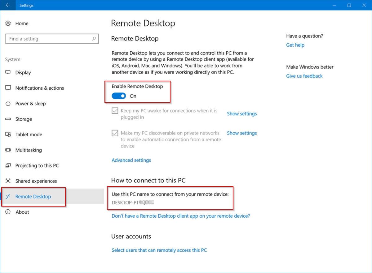 How to Control Windows 10 Remotely - WindowsChimp