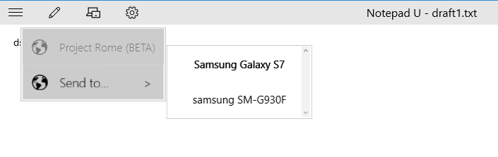 send messages from pc to phone