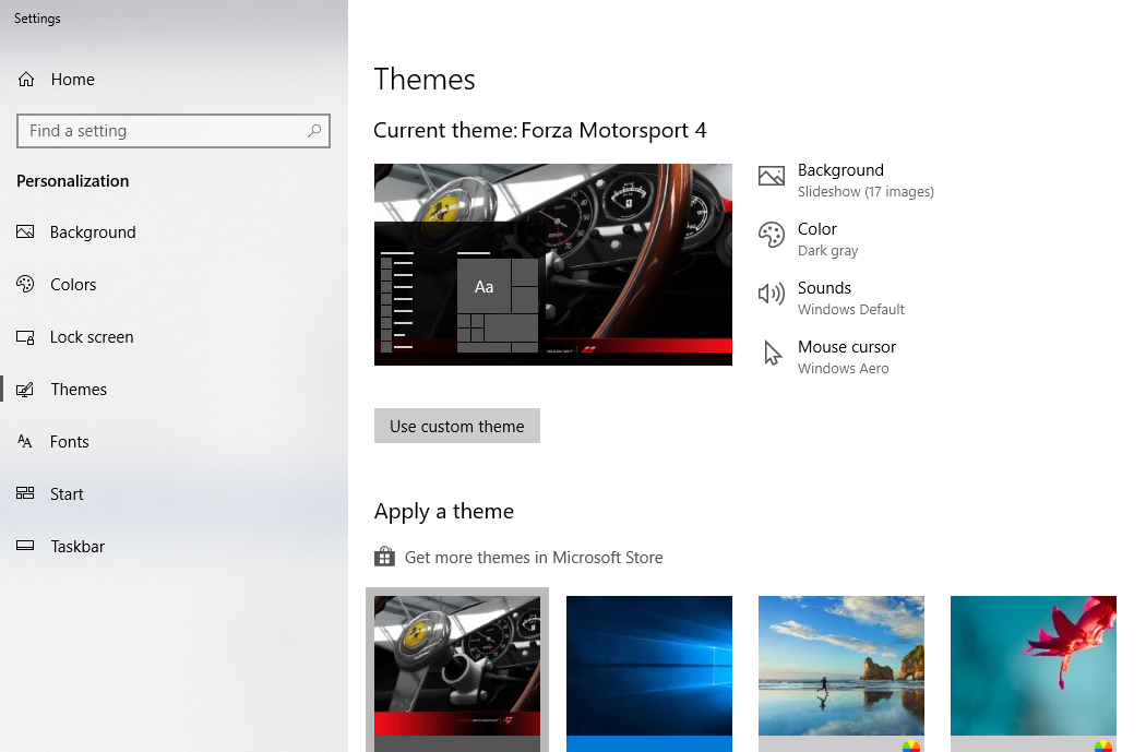 Install Custom Themes and Visual Styles