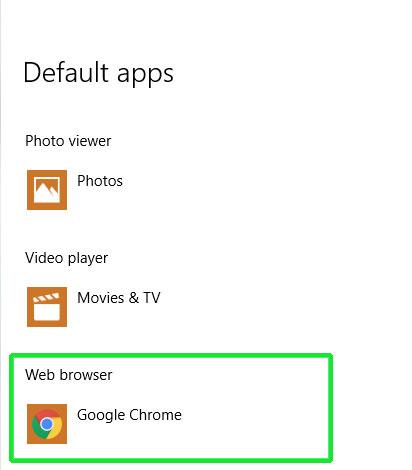 Make Cortana Use Google and Chrome browse