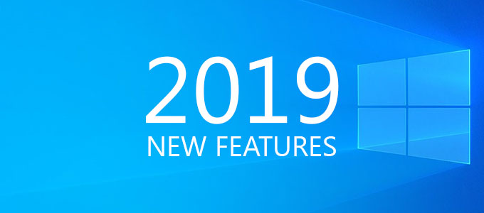 Windows 10 New-Features 2019