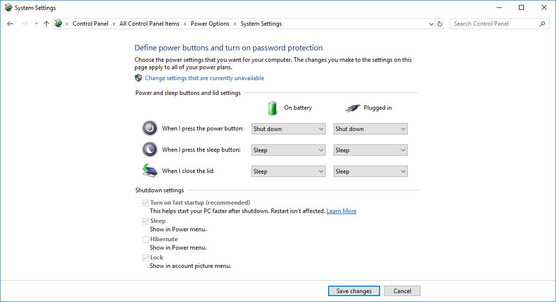 Shutdown Without Installing Updates