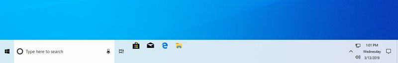 enlarge taskbar