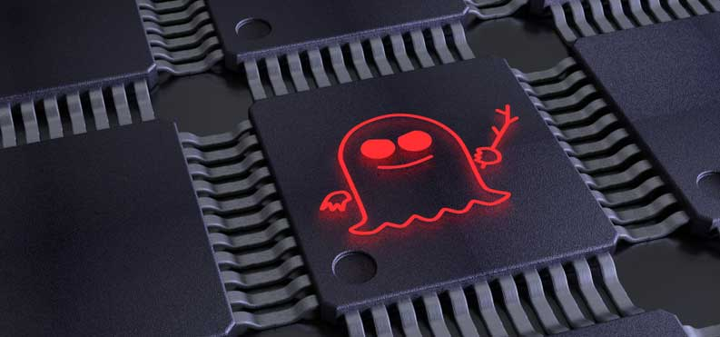 spectre attack on microprocessor