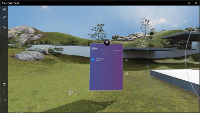virtual reality for win32-desktop apps