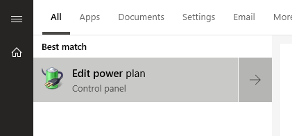 edit power plan