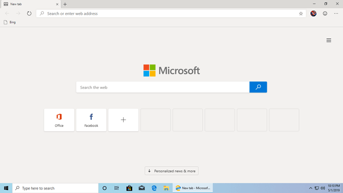 New Chromium Edge Browser