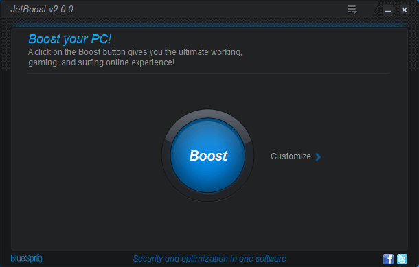JetBoost - Boost your System Speed