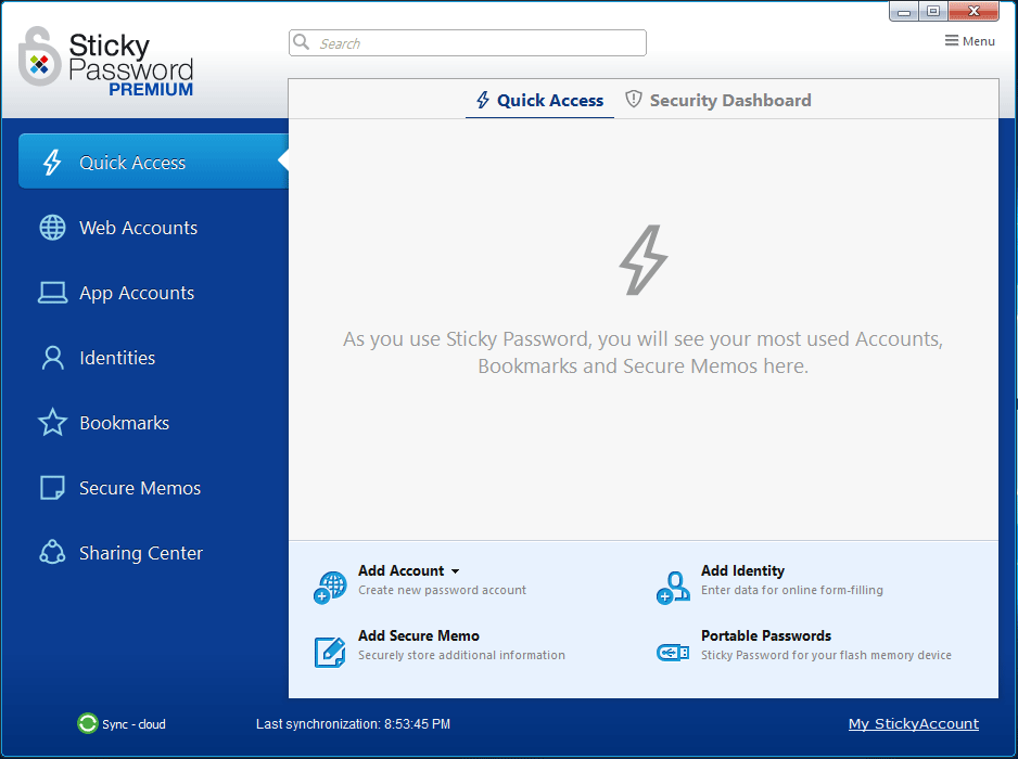 Sticky Password - Password Managers for Windows 10