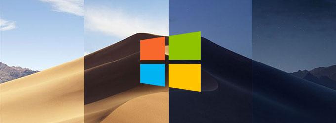 Dynamic Desktop Wallpaper for Windows 10