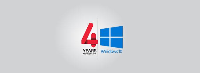 Windows 10 Fourth Anniversary