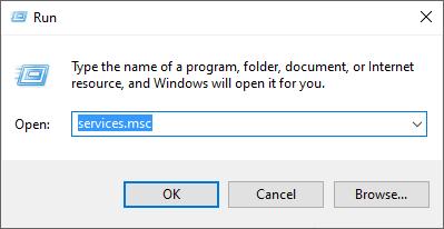 Run Windows services
