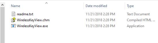 Wireless KeyView executable file
