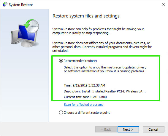 Restore-system-files-and-settings---recommended-restore