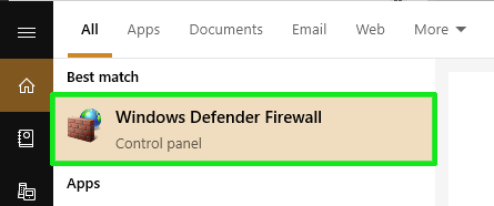 Click-on-Windows-Defender-settings