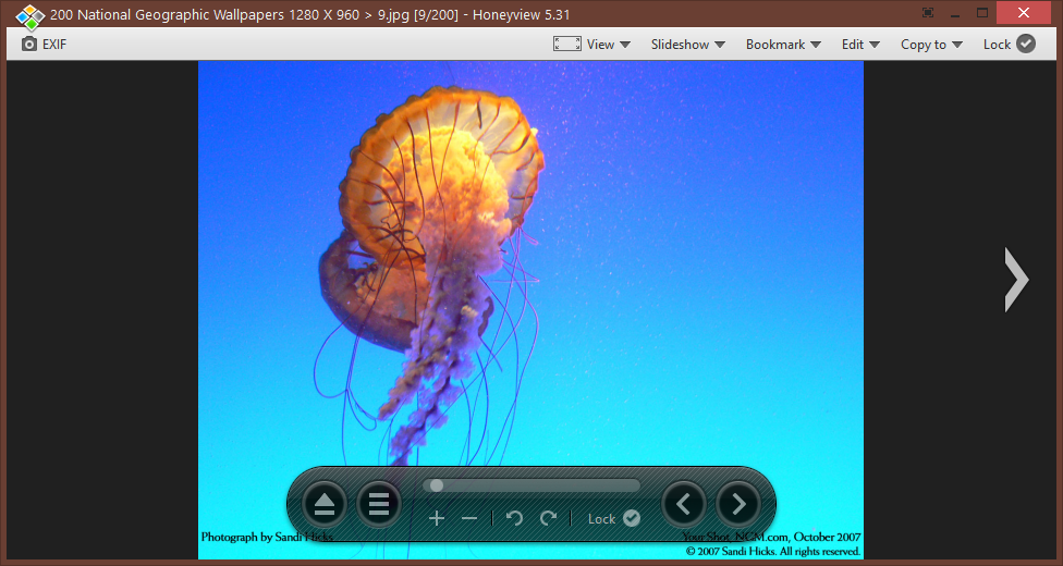 HoneyView Photo viewer