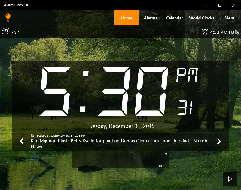alarm clock apps for Windows 10