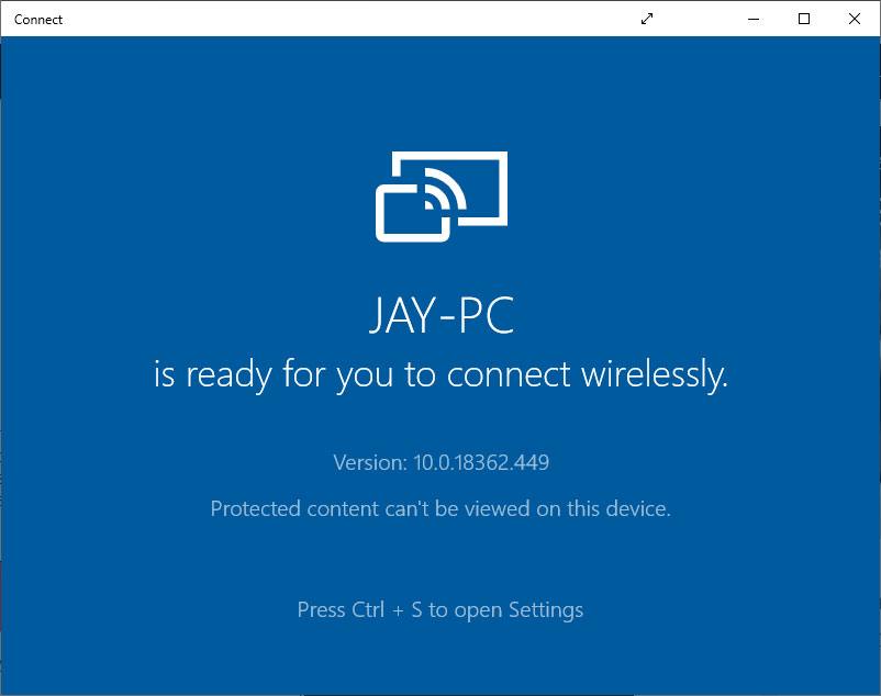 project an Android Phone to Windows