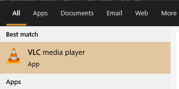 Launch VLC Media Player