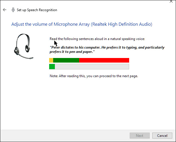 Windows Speech to Text 3