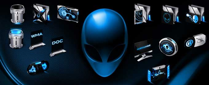 Alienware Eclipse Icons