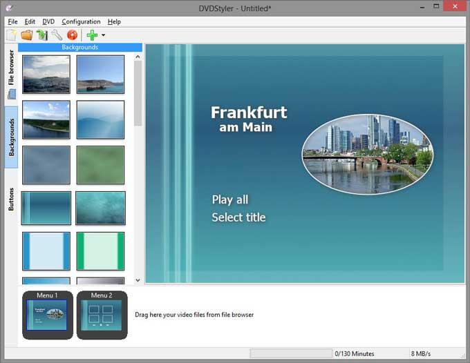 DVDStyler  - Best DVD Burning Software
