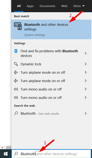 Re-Pair Bluetooth Device 2