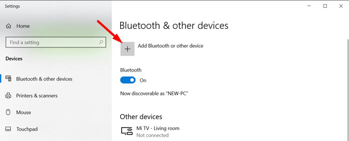 Re-Pair Bluetooth Device 5
