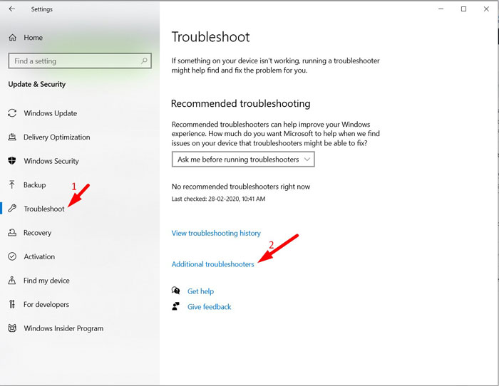 Run Bluetooth Troubleshooter 3