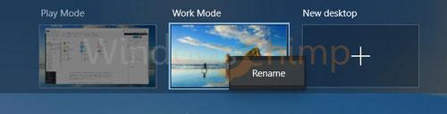 Virtual Desktop can be renamed 2