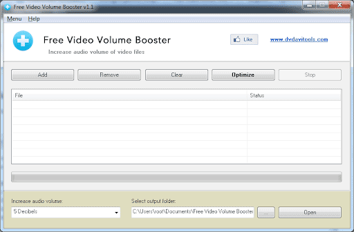 Free Video Volume Booster